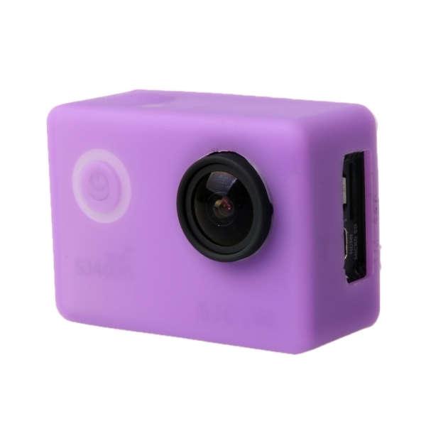 SJCAM SJ4000 ochranný obal fialová