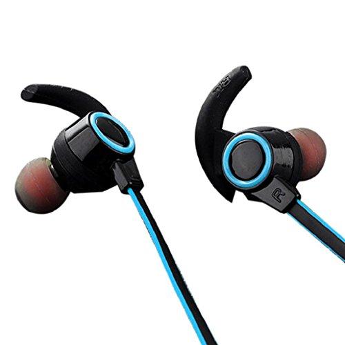 AMW AMW 810 Bluetooth bezdrátová sluchátka s mikrofonem pro iPhone Android telefon tablety modrá