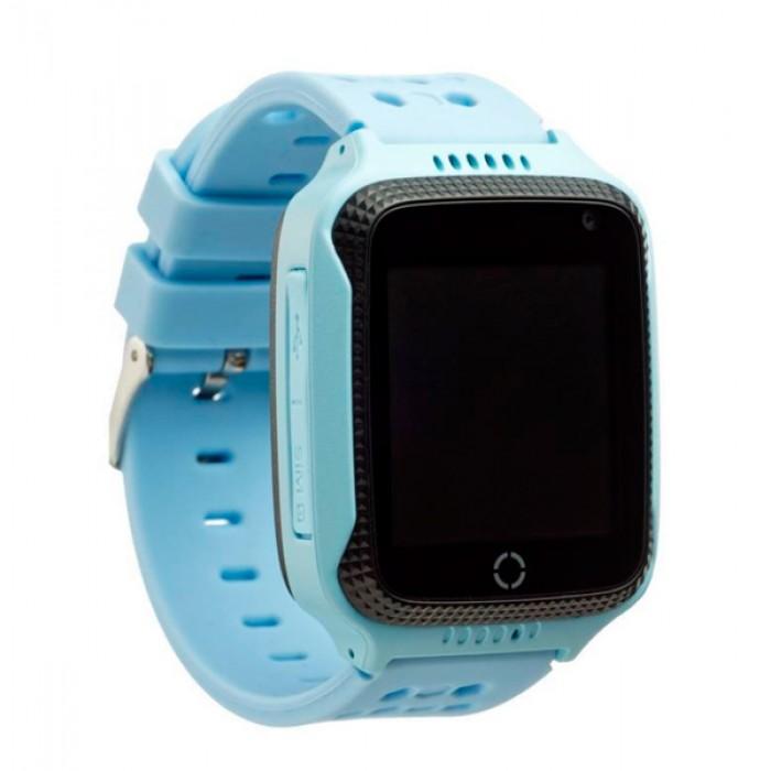 T7 T7 GPS dětské chytré hodinky s kamerou a LED modrá
