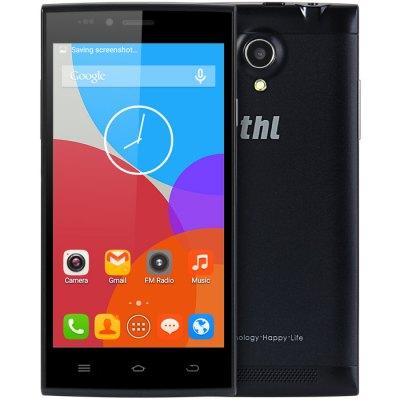 THL T6C 3G smartphone černá CZ+ochr.sklo