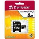 Transcend Transcend microSDHC 8GB Class 4 + adaptér TS8GUSDHC4