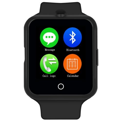 """Timeowner Timeowner V88 Bluetooth Inteligentní hodinky 1,44"""", voděodolné,krokoměr,černá"""