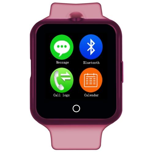 """Timeowner Timeowner V88 Bluetooth Inteligentní hodinky 1,44"""", voděodolné,krokoměr,růžová"""