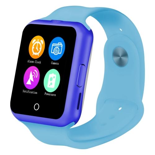 """ERENBACH ERENBACH V88 Bluetooth Inteligentní hodinky 1,44"""", voděodolné,krokoměr,modrá"""