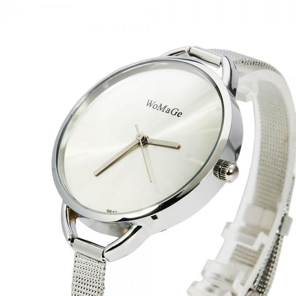 WoMaGe 9940 Dámské hodinky stříbrné