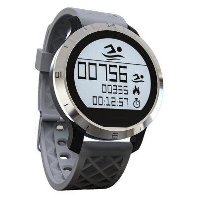 Memaws - Ann Bully F69 vodotěsné smart hodinky šedá 0bdc6763739