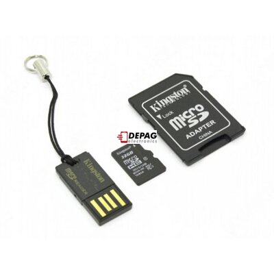 KINGSTON 4GB Micro SD Class 4, Multikit