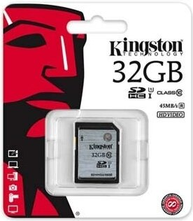 Kingston SDHC 32GB UHS-I SD10VG2/32GB