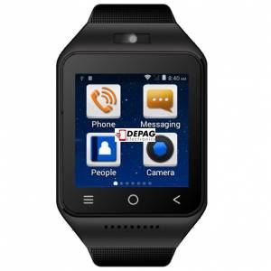 ZGPAX S8 CZ/SK, Smart Watch telefon v češtině, 512MB+4GB,  8GB TF Card, Android 4.4.2, MTK6572 Dual Core 1.2GHz, WiFi, Bluetooth, GPS, černé