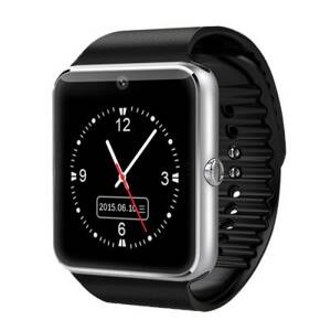Smart Watch GT08 stříbrná